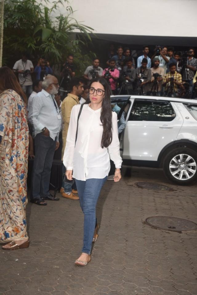 Karisma Kapoor at the venue.