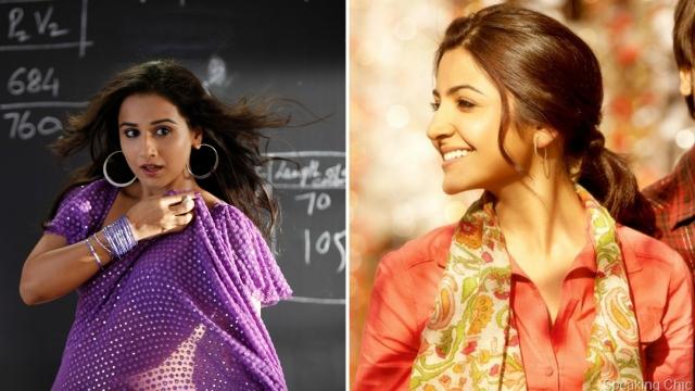 Vidya Balan and Anushka Sharma captured Husain's imagination.