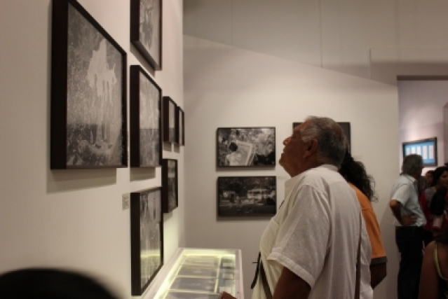 The exhibition draws from the photographic archives of Josef Wirsching, a German cinematographer, who made India his workplace and home.
