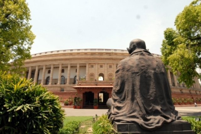 Indian Parliament. (File Photo: IANS)