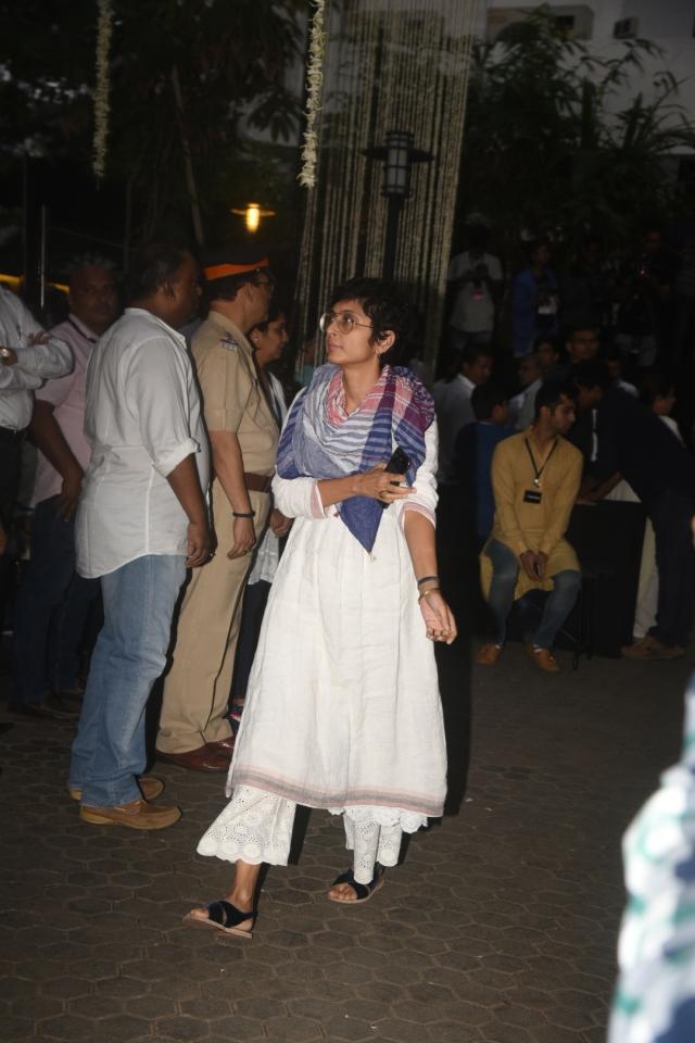 Kiran Rao at the venue.