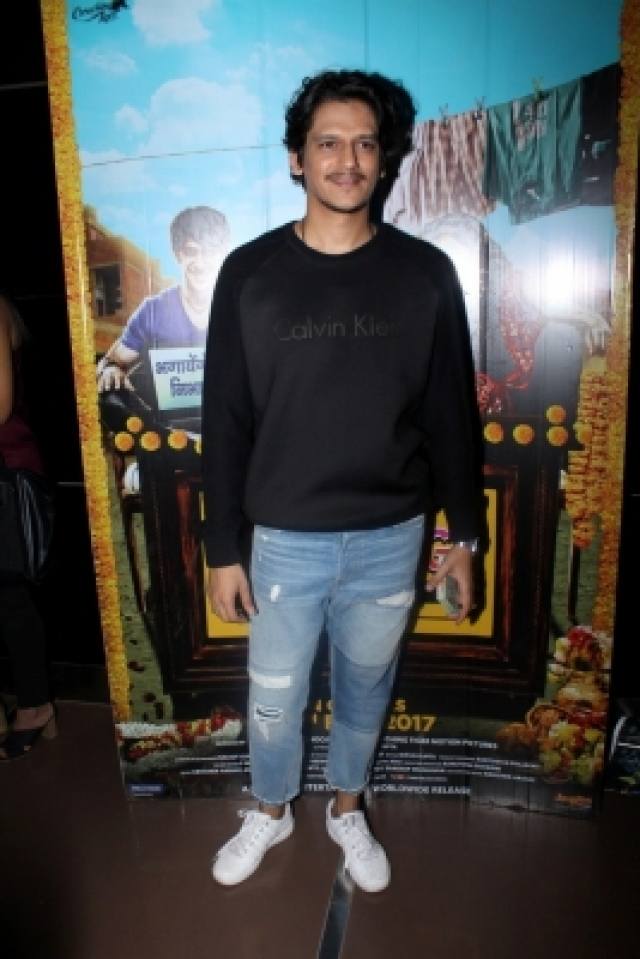Mumbai: Music composer Vijay Varma during the special screening of film Running Shaadi.com in Mumbai on Feb 15, 2017. (Photo: IANS)