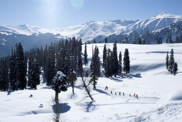 The breathtaking beauty of Kashmir makes it an ideal location to spend New Year.
