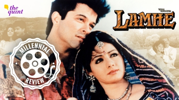 Anil Kapoor and Sridevi in <i>Lamhe.</i>
