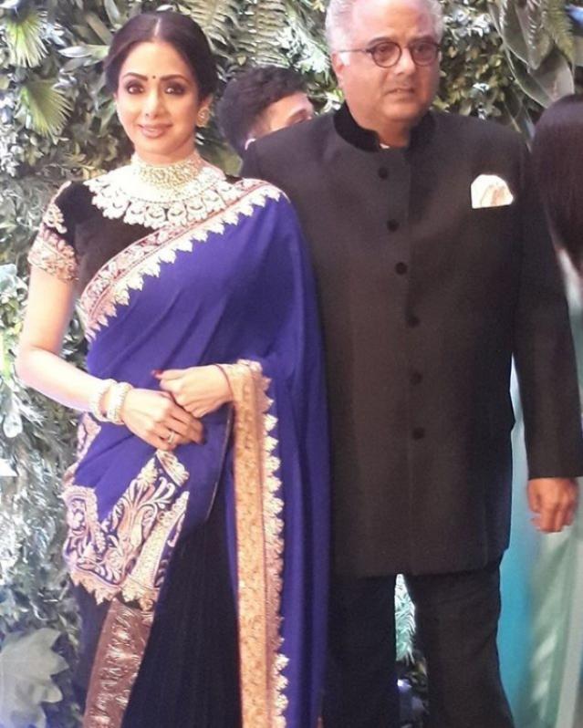 Sridevi and husband Bonny Kapoor