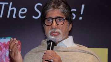 Amitabh Bachchan at the launch of <i>Bollywood - The Films! The Songs! The Stars! (Representational Image).</i>