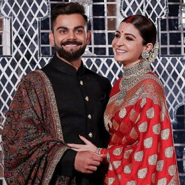Anushka Sharma's saree took 60 days to make.