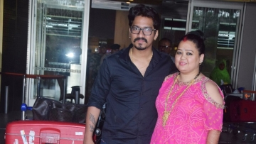 Bharti Singh and Haarsh Limbachiyaa are back in the bay.
