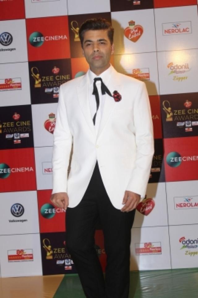 "Mumbai: Filmmaker Karan Johar at the red carpet of ""Zee Cine Awards 2018"" in Mumbai on Dec 19, 2017. (Photo: IANS)"