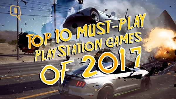 Here is a look at top ten PlayStation 4 games of 2017.