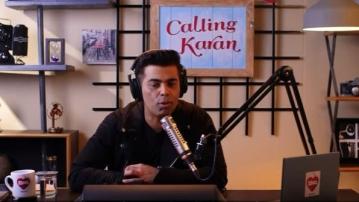 Karan Johar on Ishq FM's <i>Calling Karan</i>.