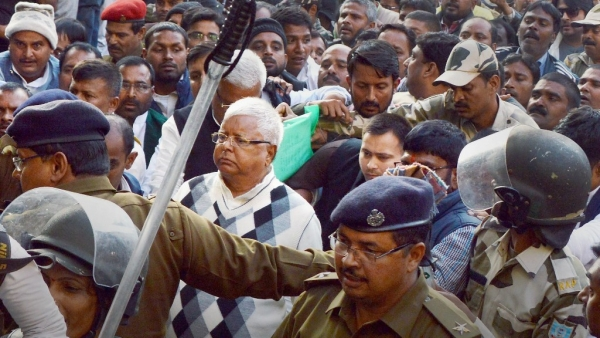 Lalu Yadav will make his ninth trip to jail and his third to the Birsa Munda Central Jail in Ranchi.