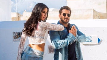 <p>Salman Khan and Katrina Kaif in <i>Tiger Zinda Hai.</i></p>