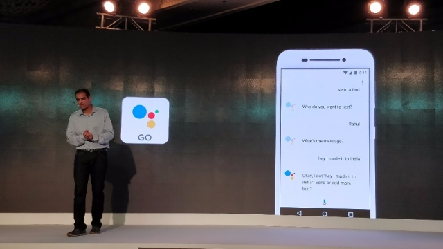 Google Assistant Go is the simpler version made for Oreo Go devices.