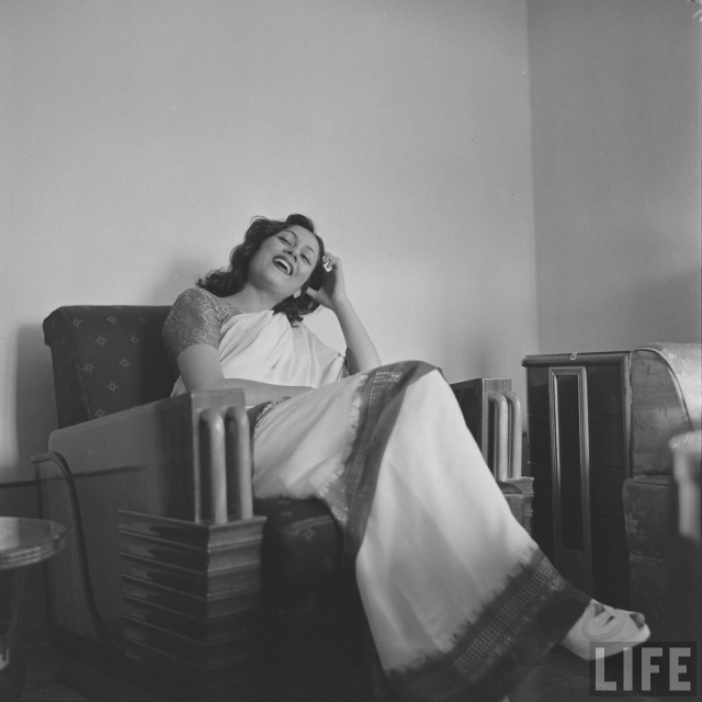 Madhubala's birthday coincides with Valentine's Day.