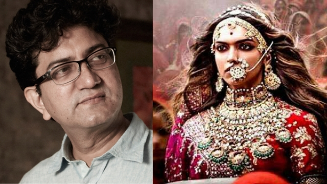 CBFC chief Prasoon Joshi denied 300 cuts were made to <i>Padmavati</i>.