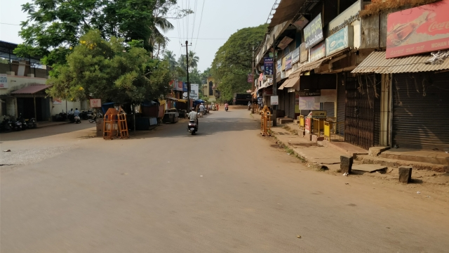 Honnavar Town after messages communal attack spread on WhatsApp groups.