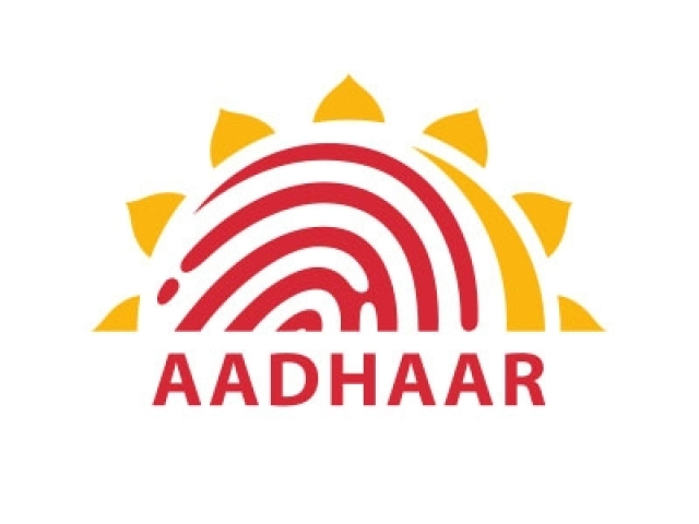 Aadhaar logo.