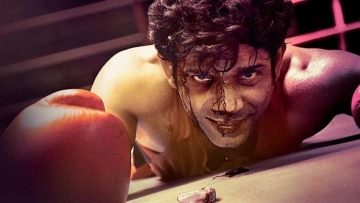 Vineet Singh in a still from <i>Mukkabaaz</i>.