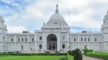 The iconic Victoria Memorial in Kolkata.