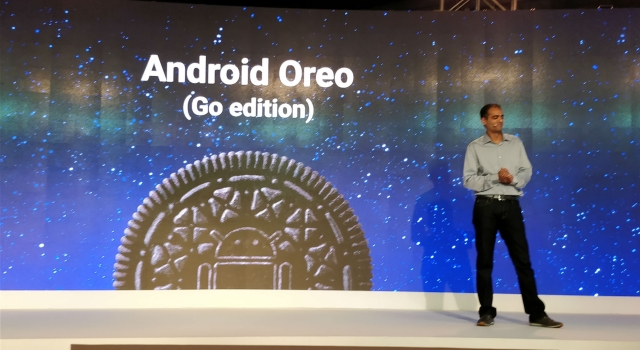 Android Oreo Go version rolling out with devices very soon.