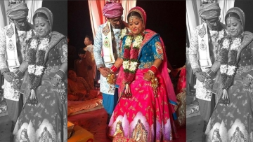 Bharti and Haarsh are now married.