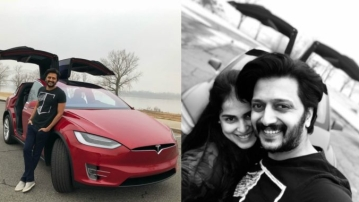 Riteish Deshmukh and Genelia DSouza Deshmukh setting couple goals.