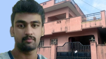 File image of accused Dhasvanth.