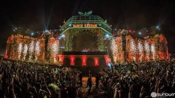 A moment from an older edition of the Sunburn Festival.