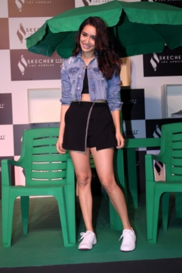 Mumbai: Actress Shraddha Kapoor during launch a product in Mumbai on Nov 23, 2017. (Photo: IANS)