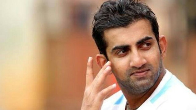 If it wasn't for cricket, Gautam Gambhir wanted to serve the army.