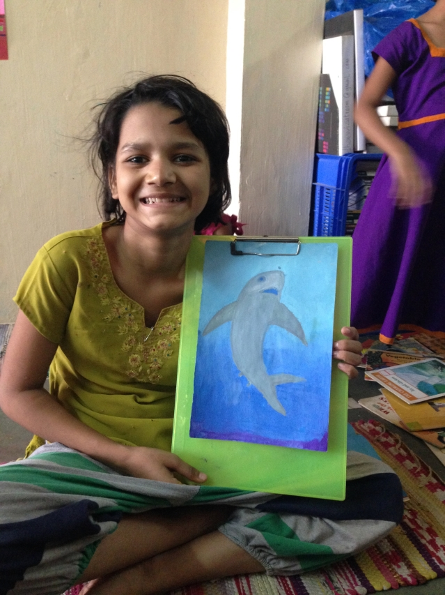 Aqui Thami has been working on building her own idea of a safe space for herself and the women and young girls she works with in Dharavi, called The Dharavi Art Room.