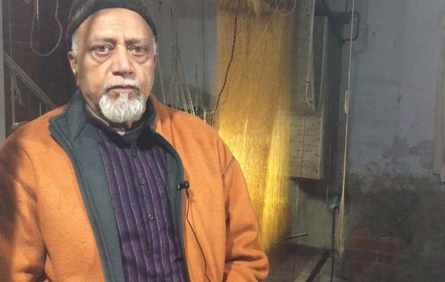 Maqbool Hassan of Peeli Kothi in Benaras has been in the business since 1966.