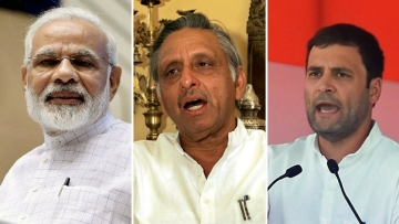 "Mani Shankar Aiyar sparked a row after he said Narendra Modi was a ""neech kism ka insaan""."