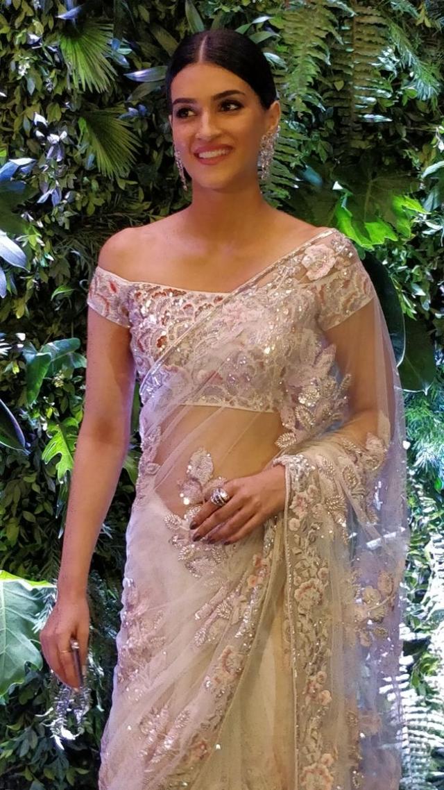 Kriti Sanon at the reception.