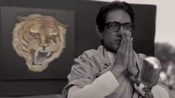 <p>Nawazuddin Siddiqui in and as Shiv Sena supremo, Bal Thackeray. </p>