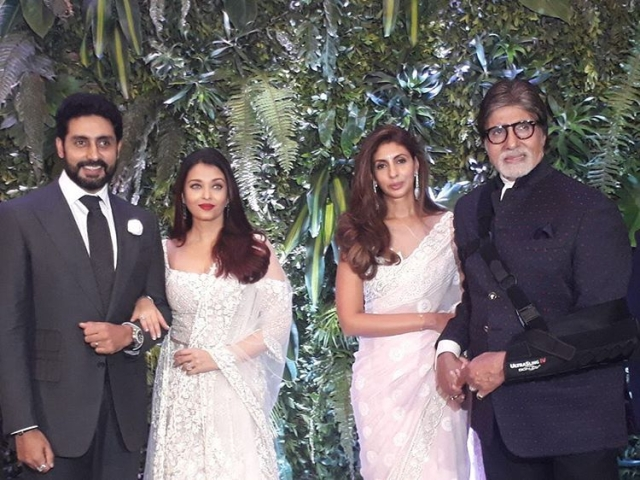 The Bachchan family.
