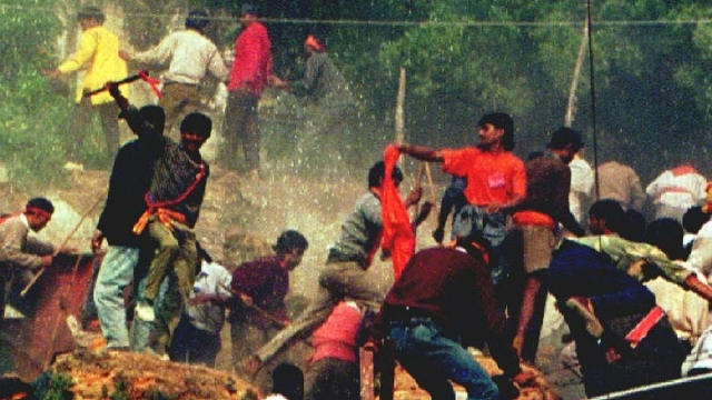 The demolition was orchestrated 43 years after Ram Lalla's idols were placed inside the Babri Masjid.
