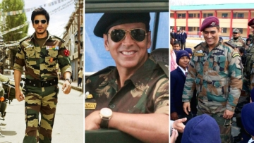 Akshay Kumar, Shah Rukh Khan and Dhoni - they all wanted to serve in the armed forces.