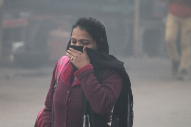 Air pollution. (File Photo: IANS)