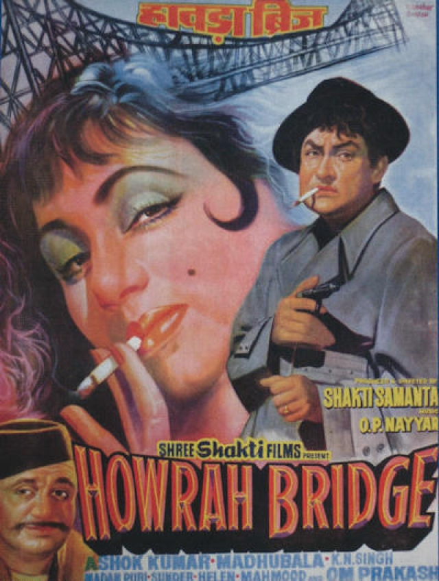 A poster of <i>Howrah Bridge</i>.