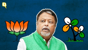 Mukul Roy has become the reluctant face of the BJP for the Sabang by-polls.