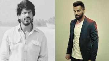 Virat Kohli has dethroned  Shah Rukh Khan to become the most valuable celebrity brand in the country.