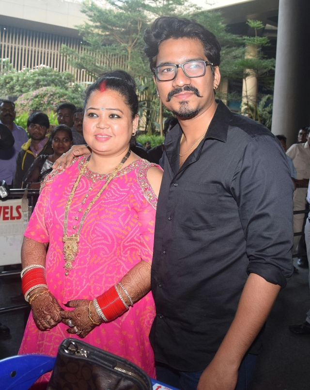 Bharti Singh and Haarsh Limbachiyaa.