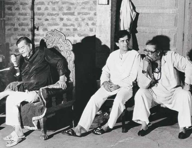 Raj Kapoor, Shashi Kapoor and Shammi Kapoor in one frame.