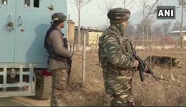 Visuals from the CRPF camp in Pulwama
