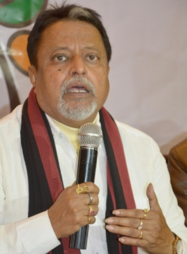 Trinamool Congress leader Mukul Roy.(File Photo: IANS)