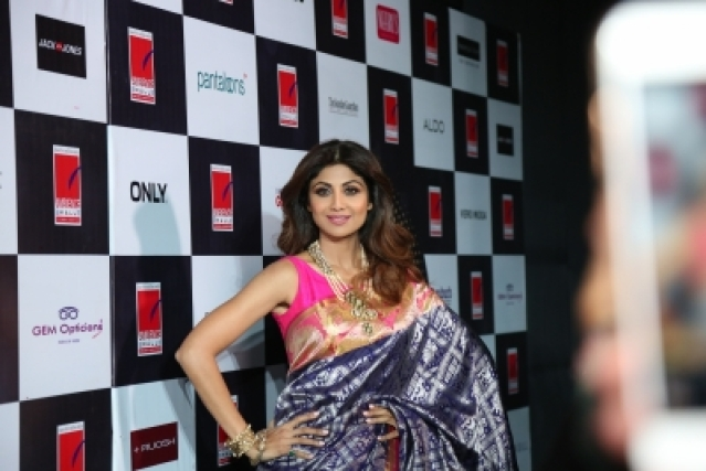 Actress Shilpa Shetty.