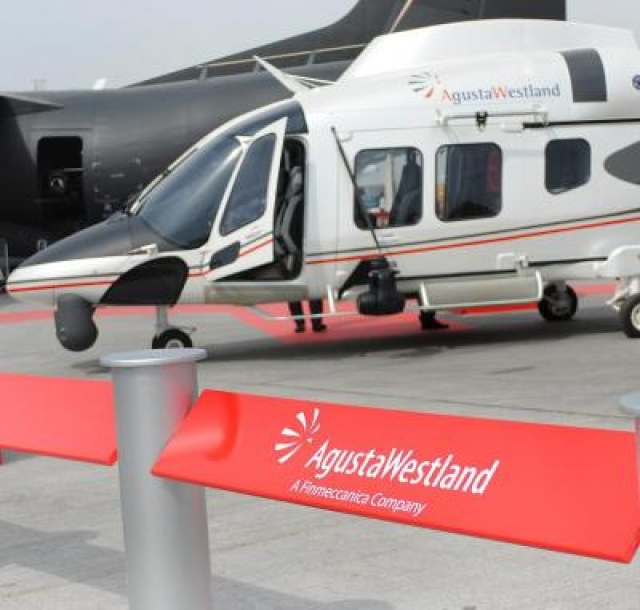 (A File Photo) India has terminated the Rs. 3,600 crore deal for VIP choppers with AgustaWestland after bribery allegations tainted the deal, on Jan.1, 2014. (Photo: IANS)