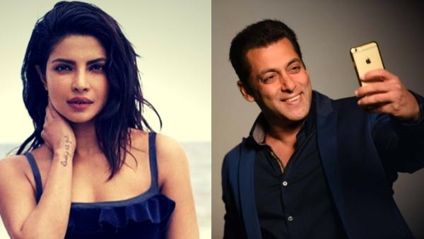 Priyanka Chopra and Salman Khan.